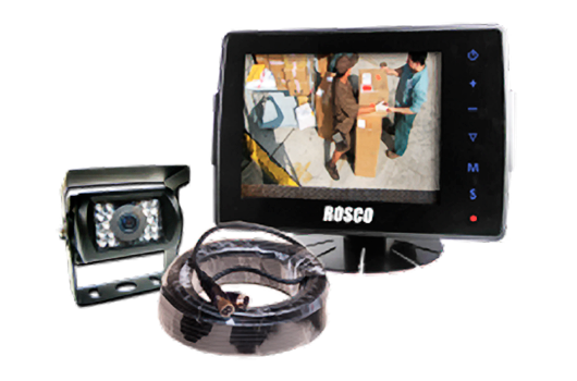 Eagle Wireless provides Rosco Vision Systems GPS fleet camera systems.